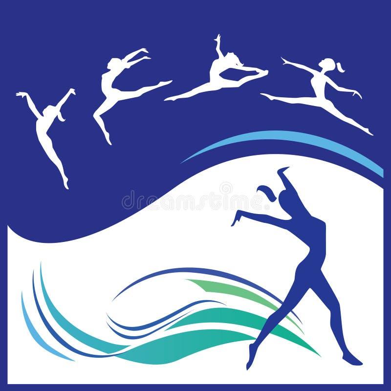 Download Woman gymnastics vector stock vector. Image of acrobat - 11749801