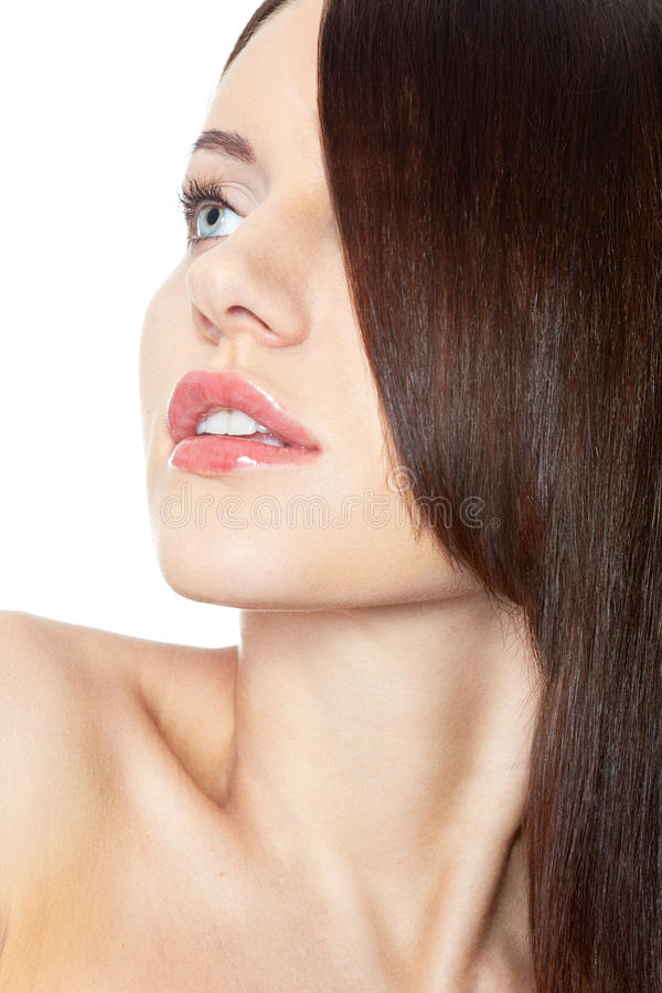 Download Woman With Hair On Eye Stock Photography - Image: 23377132