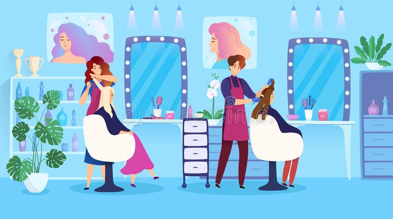 Beauty Salon Cartoon Stock Illustrations 12 404 Beauty Salon Cartoon Stock Illustrations Vectors Clipart Dreamstime