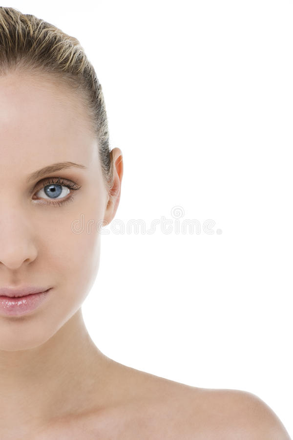 Download Woman Half Face Royalty Free Stock Images - Image: 13537209