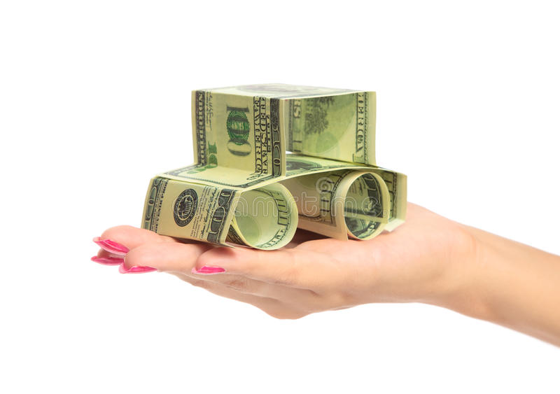 Download Woman hand Holding The car stock photo. Image of money - 10229438