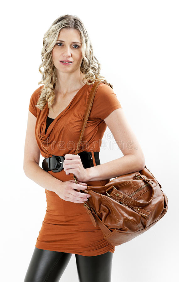 Download Woman With A Handbag Stock Photography - Image: 27009882