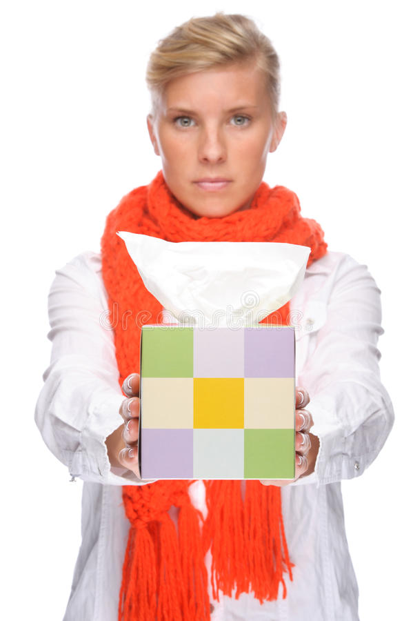 Download Woman With Handkerchief Stock Photography - Image: 18018872