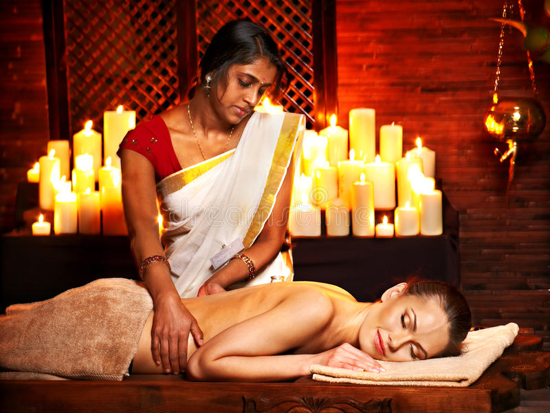 Download Woman Having Ayurvedic Spa Treatment. Stock Photo - Image: 30465520