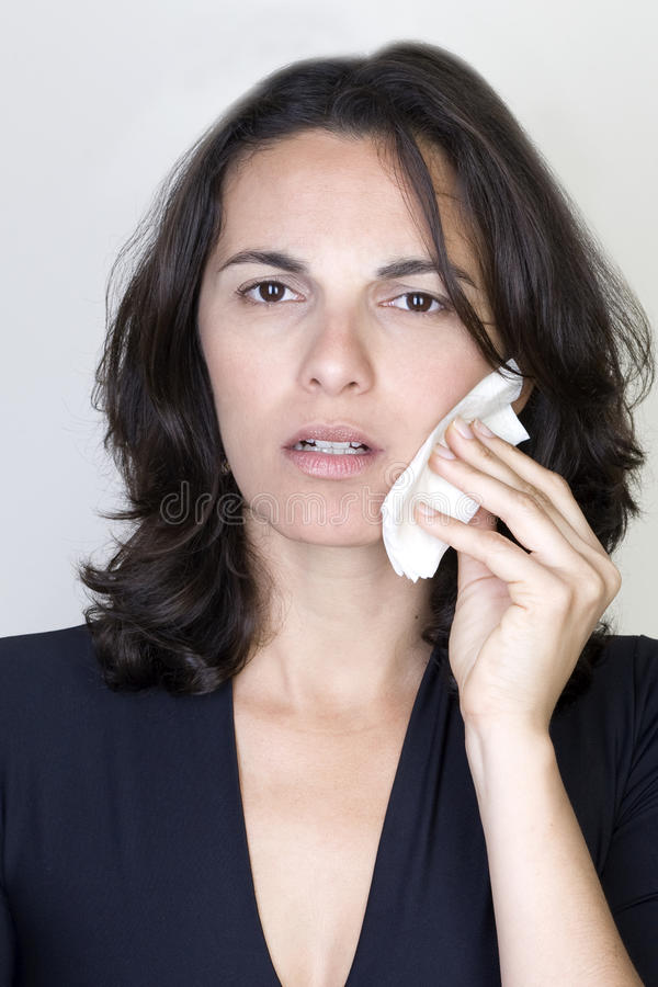Download Woman having toothache stock photo. Image of body, ache - 29194356