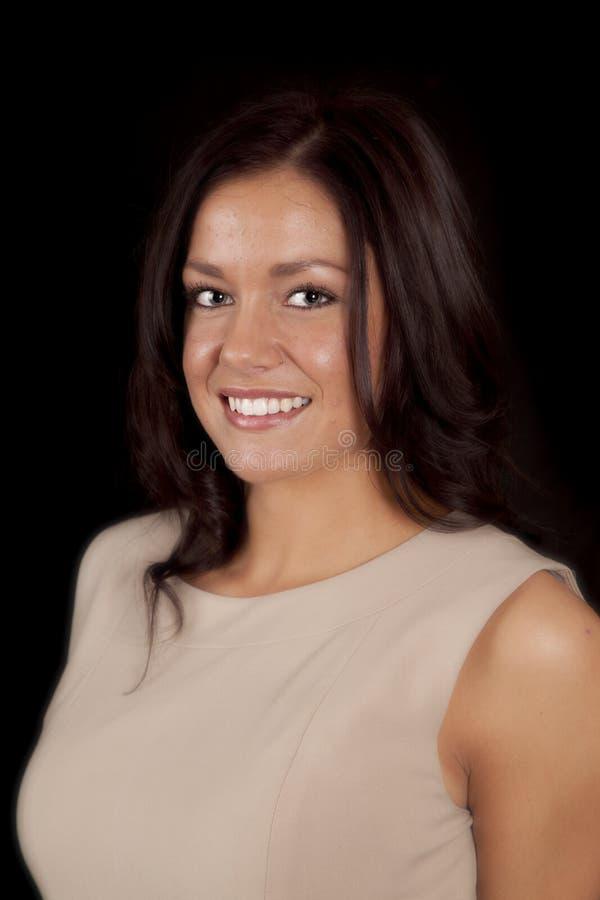 Download Woman Head Shot Tan Top Royalty Free Stock Photos - Image: 18614408