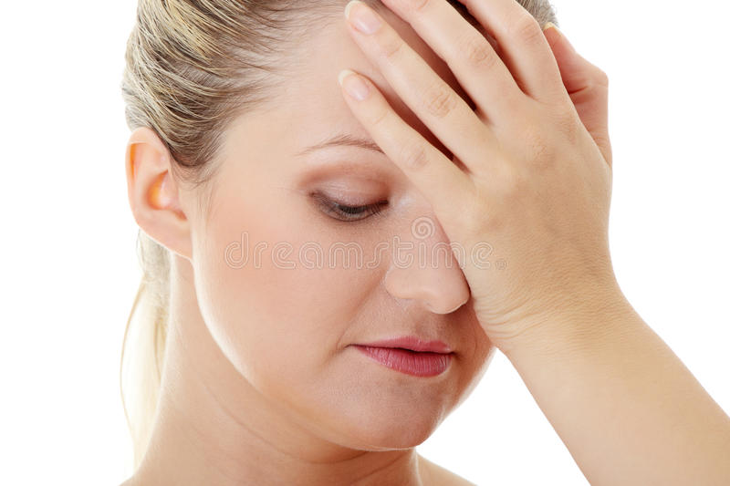 Download Woman With Headache Stock Image - Image: 16108911