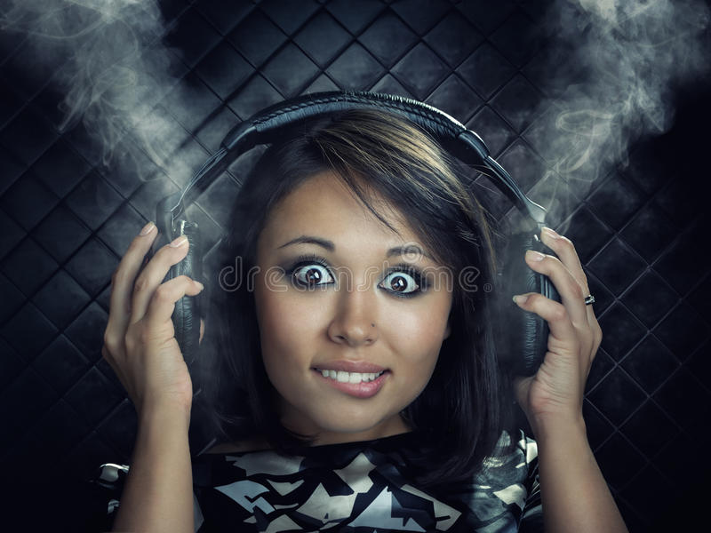 Download Woman With Headphones Royalty Free Stock Photo - Image: 25444525