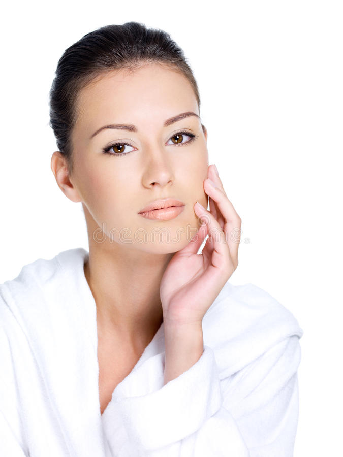 Download Woman With Healthy Clean Skin Stock Photo - Image: 23789042