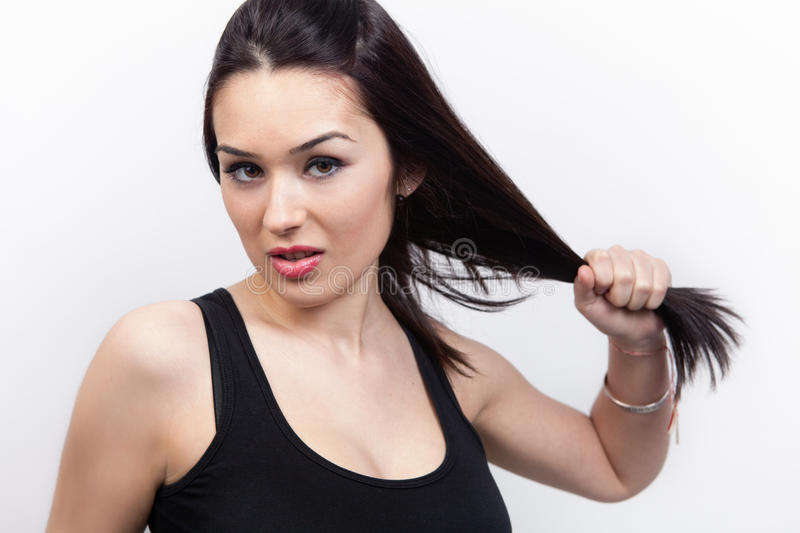 Download Woman With Healthy Long Hair Stock Image - Image: 23779765