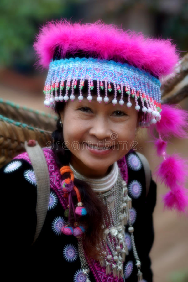Download Woman In Hill Tribe Dress Stock Images - Image: 27702524
