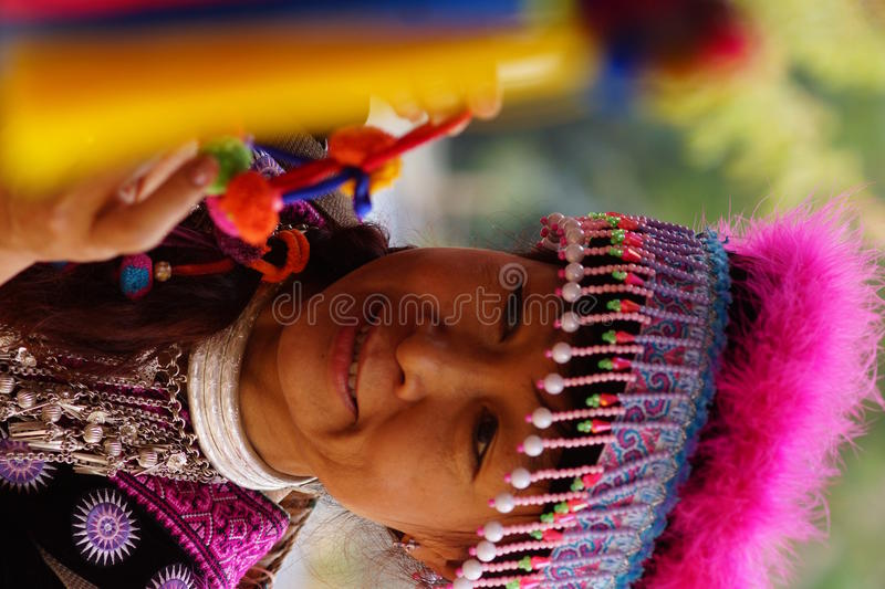 Download Woman In Hill Tribe Dress Royalty Free Stock Photo - Image: 27702585