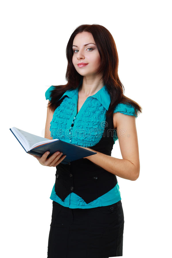 Download Woman Hold Book In Her Hands Stock Image - Image: 28176823