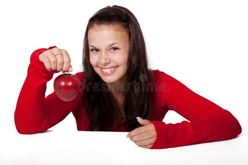 Woman Holding Apple Free Public Domain Cc0 Image