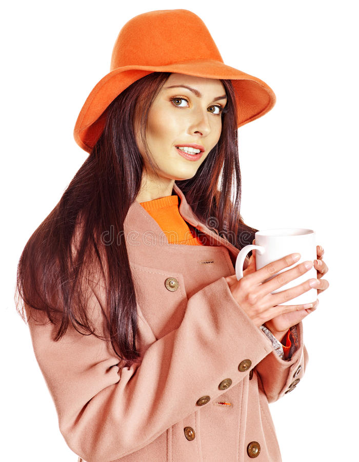 Download Woman Holding  Cup Of Coffee. Stock Photo - Image: 26671704