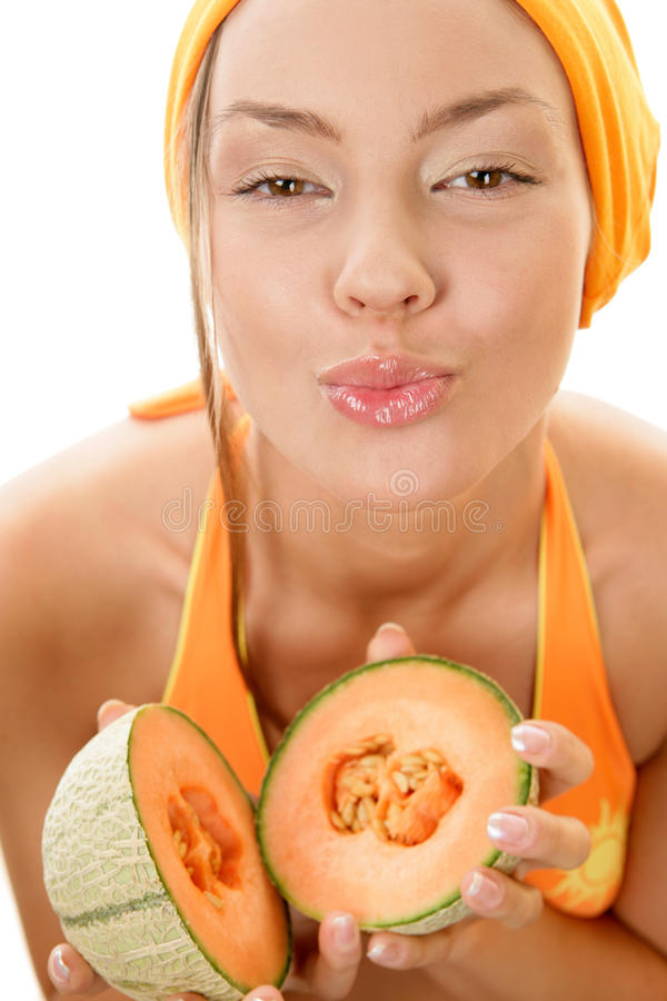 from Maddox naked woman holding melons