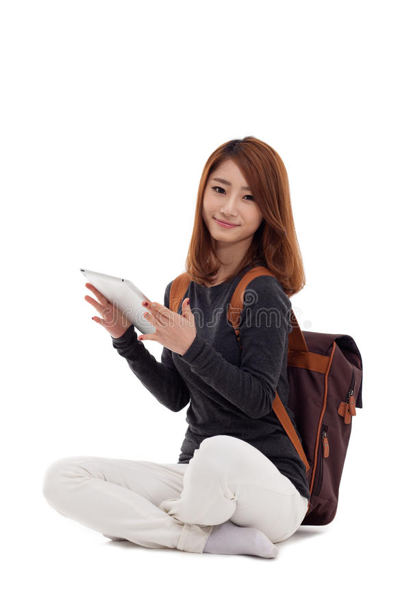 Download Woman Holding Tablet Computer Royalty Free Stock Photo - Image: 28915705