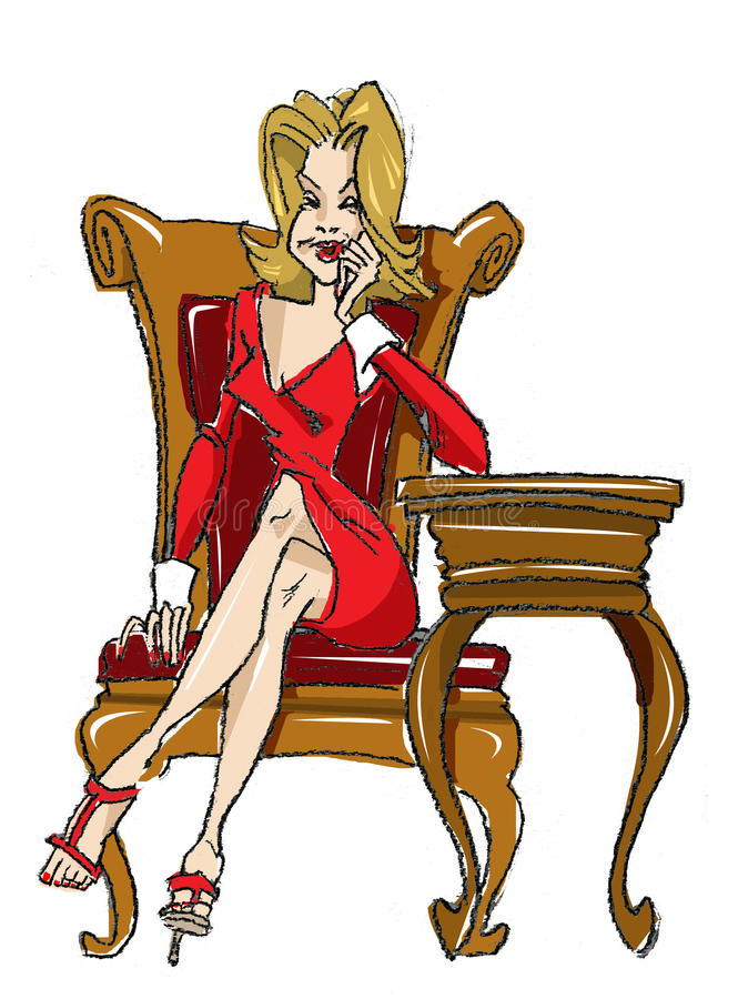 Woman Illustration vector illustration