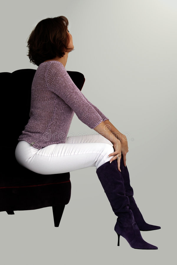 Free Woman In A Chair Stock Photos - 320273