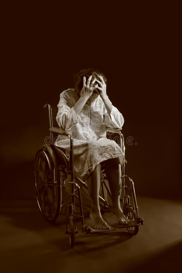 Free Woman In A Wheelchair Royalty Free Stock Photos - 13917668