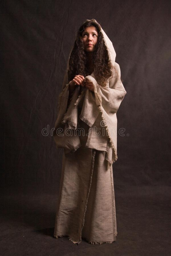 Free Woman In Biblical Robe Royalty Free Stock Images - 11070559