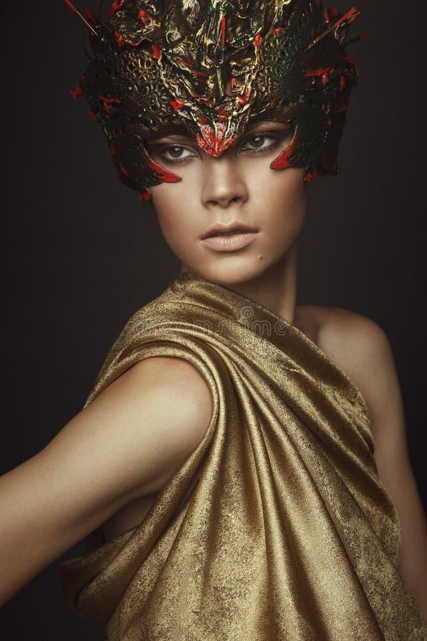 Free Woman In Creative Head Wear Stock Photography - 62904602