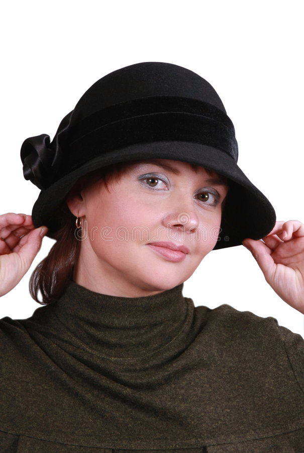 Free Woman In Hat Royalty Free Stock Image - 4159766