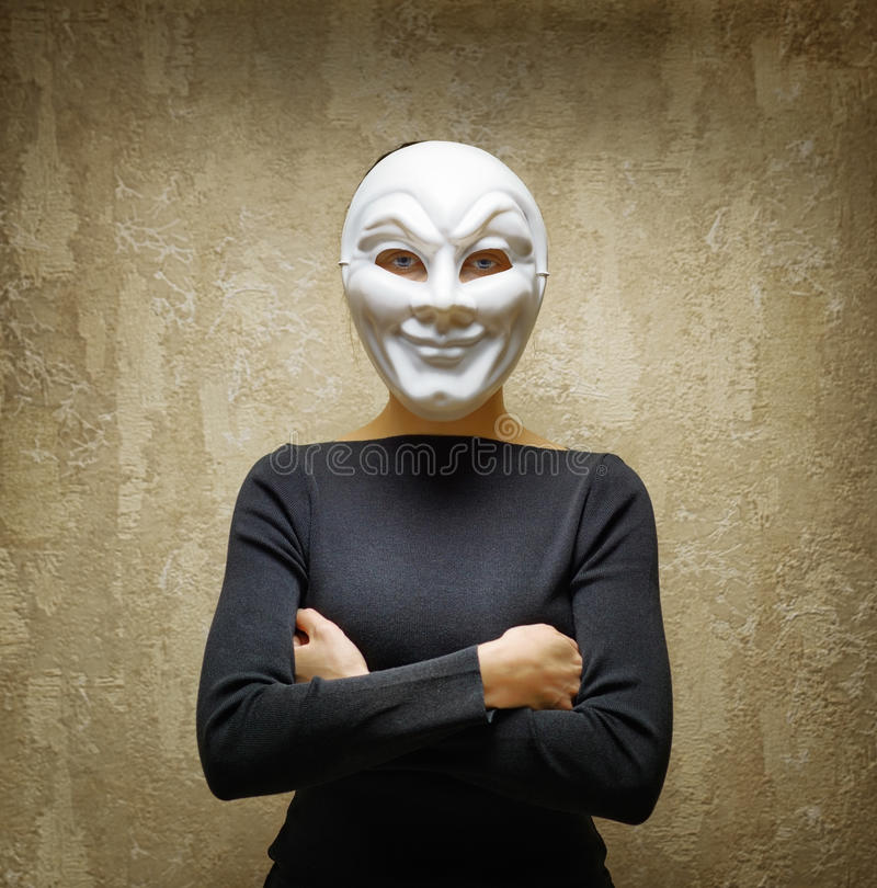 Free Woman In White Mask Royalty Free Stock Image - 42182416