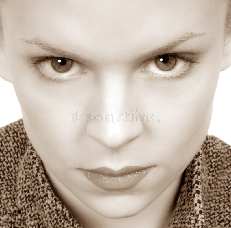 Download Woman With Intense Eyes Stock Photos - Image: 1700003