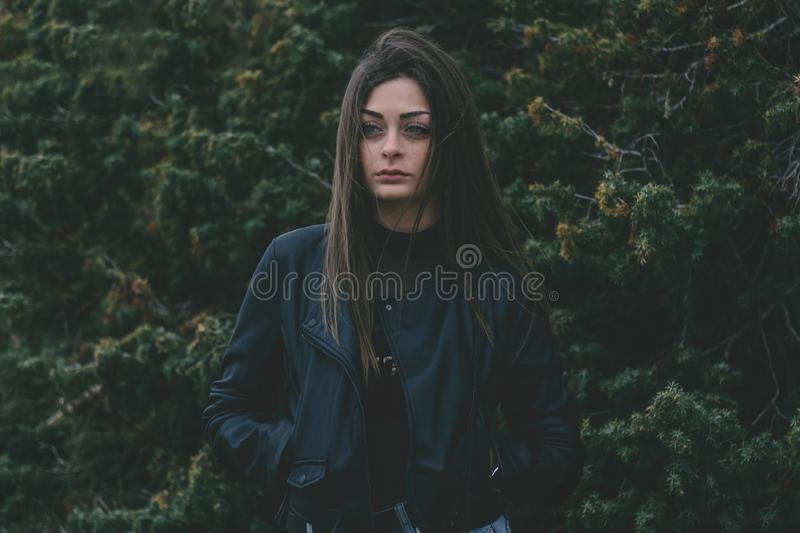 Woman In Jacket Free Public Domain Cc0 Image