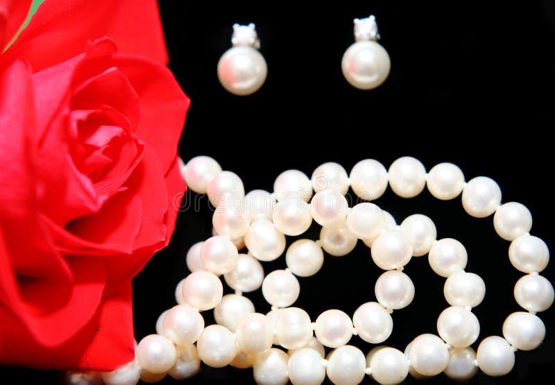 Woman jewelry stock photos
