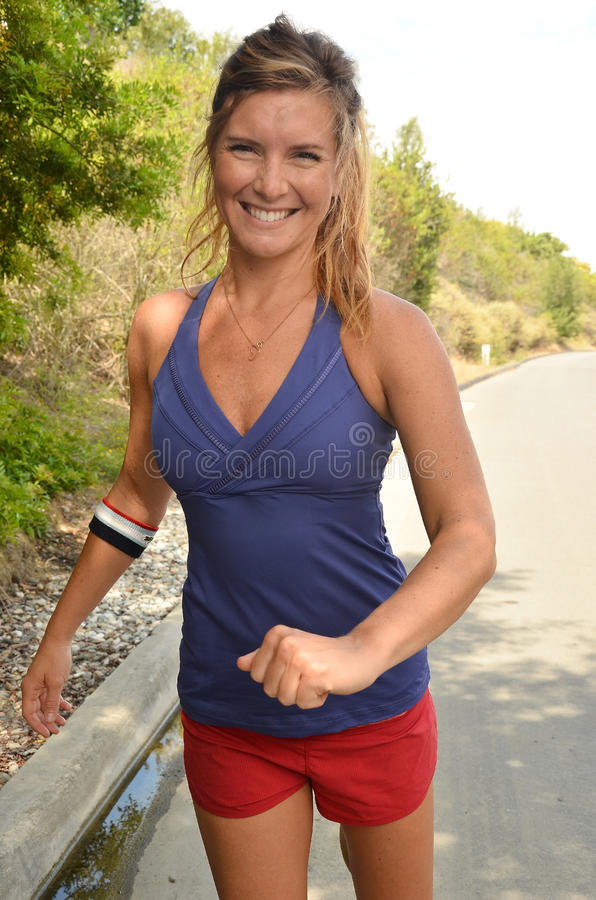 Download Woman Jogger stock image. Image of caucasian, recreation - 25770251