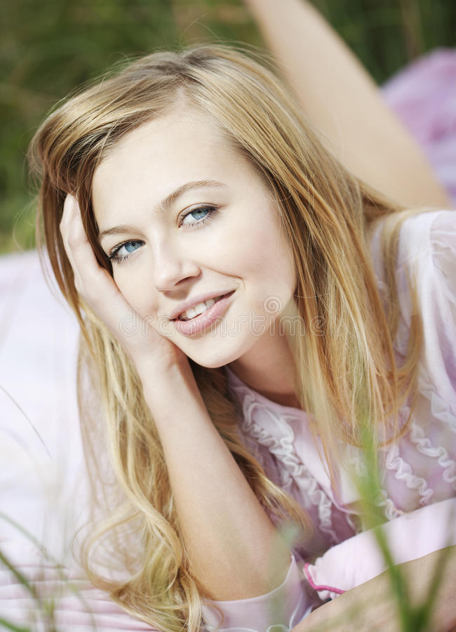 Free Woman Joy In The Field Royalty Free Stock Photo - 16137445