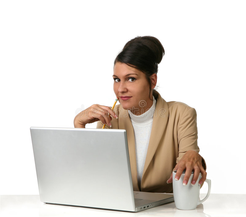 Download Woman With Laptop Stock Photos - Image: 3068333