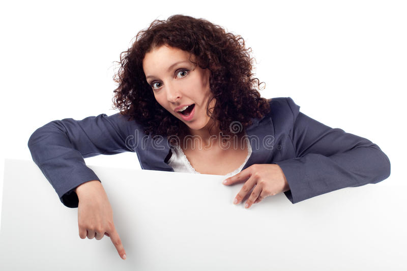 Download Woman With Laptop, Thumbs Up. Isolated Stock Photo - Image: 25596106