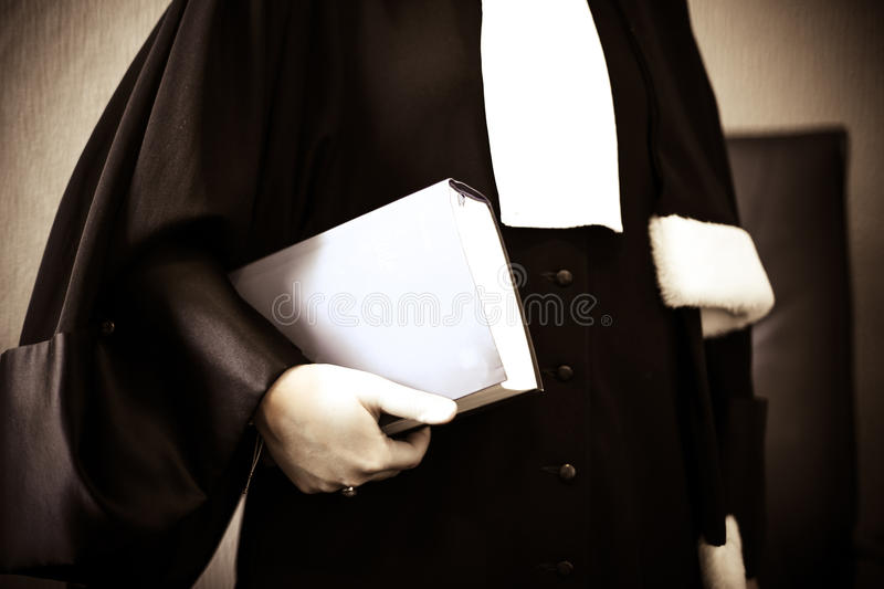 Woman lawyer stock photography