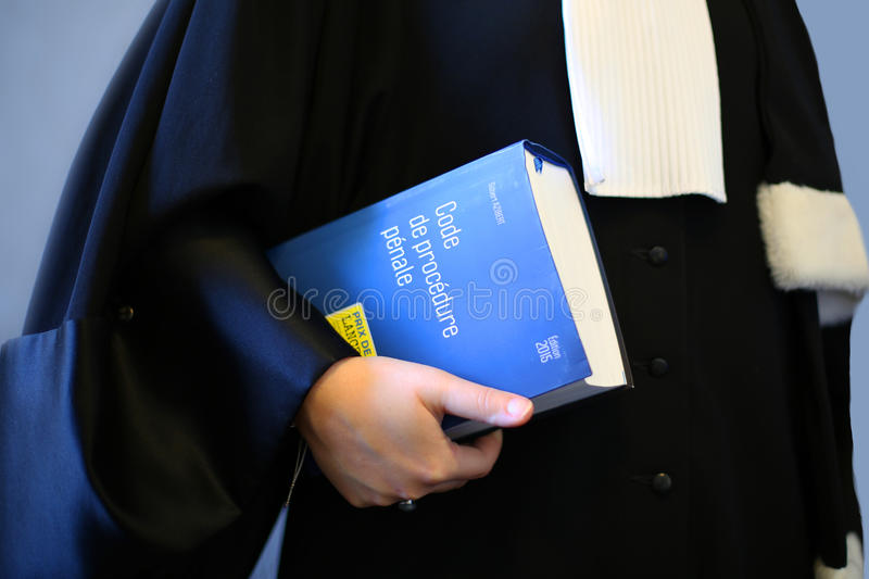 Woman lawyer stock images