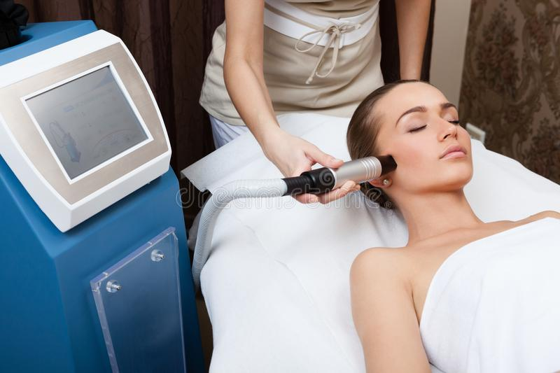 Beauty spa treatment royalty free stock images