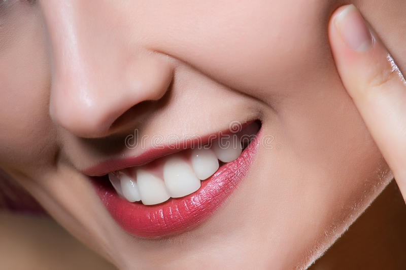 woman lips stock images