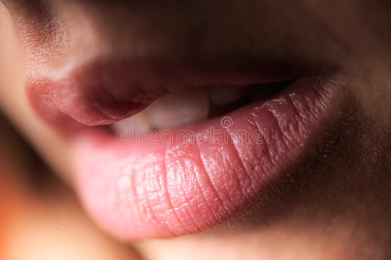 Woman Lips Stock Photo