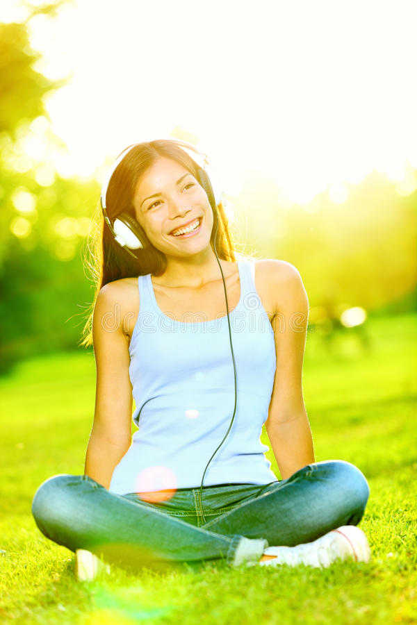 Download Woman Listening To Music Stock Images - Image: 24526294