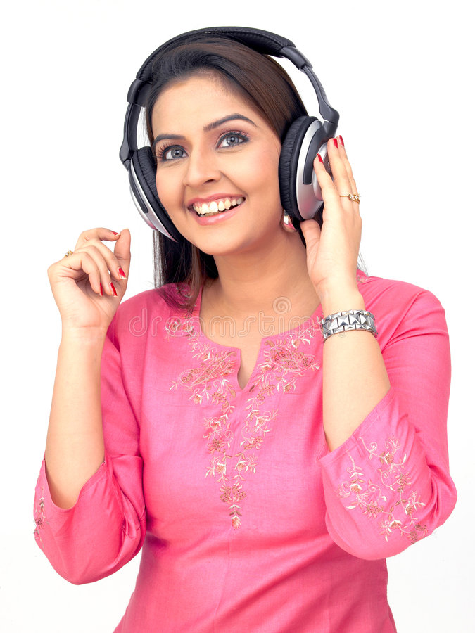 Download Woman Listening To Music Royalty Free Stock Photo - Image: 7960315