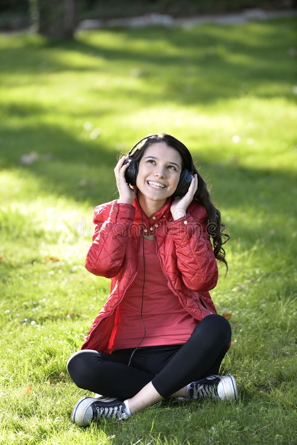 Download Woman Listening To Music Royalty Free Stock Photo - Image: 35403295