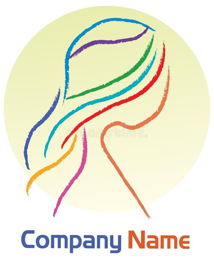 Woman Logo Royalty Free Stock Photography