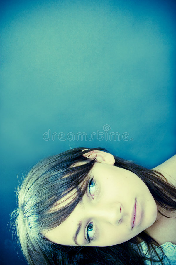 Woman Looking To Side Royalty Free Stock Photography