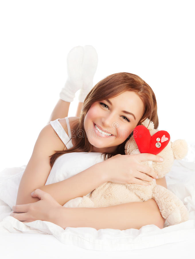 Download Woman in love stock photo. Image of beautiful, morning - 29001368