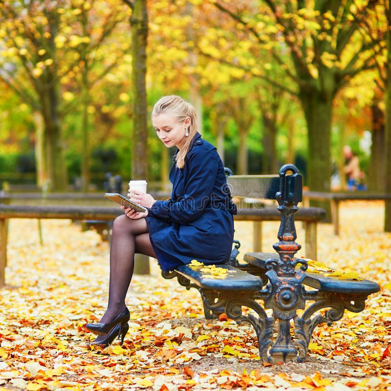 Cafe Near Jardin Du Luxembourg: Luxembourg Garden Of Paris, France Stock Image