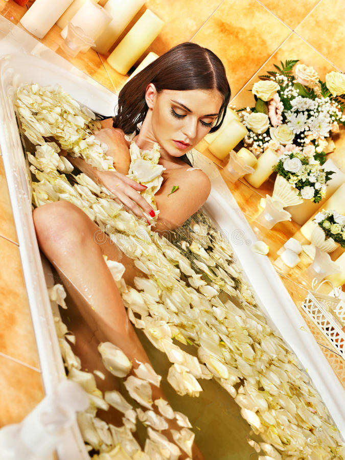 Download Woman At Luxury Spa. Stock Photos - Image: 30465633