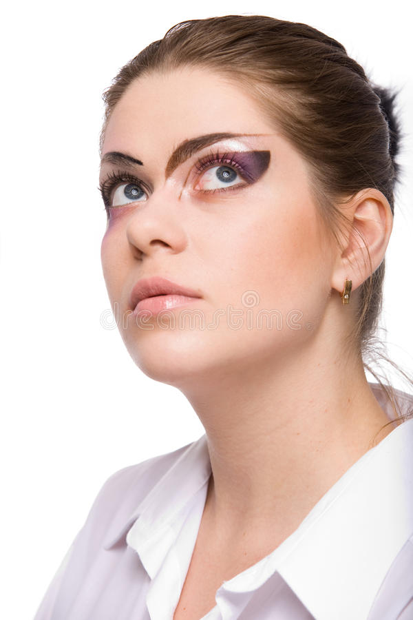 Download Woman With Makeup Stock Photography - Image: 12258242