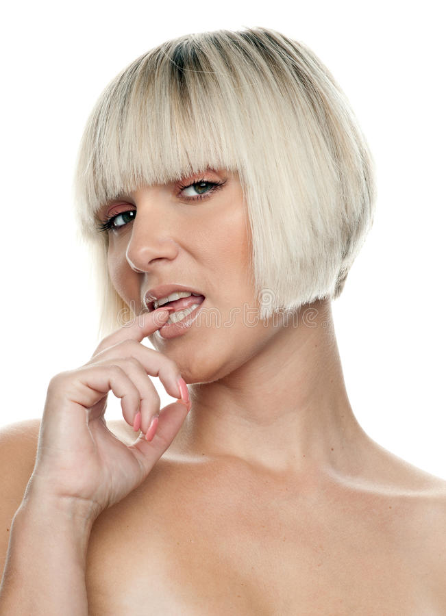 Download Woman making expression stock image. Image of emotion - 21385447